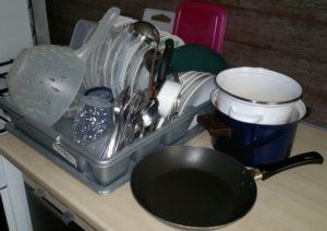 Umyté nádobí